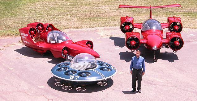 future flying cars pics